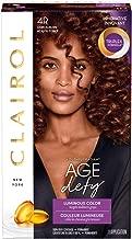 Clairol Age Defy Permanent Hair Color, 4R Dark Auburn, 1 Count
