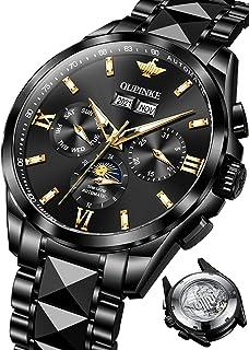 Mens Watches Automatic Mechanical Luxury Premium Self Winding Dress Wrist Watches Sapphire...