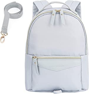 mommore Fashion Toddler Backpack Travel Kids Backpack with Small Toddler Leash