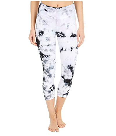 Hard Tail Flat Waist Capris (Multicolor Iceberg # 1) Women