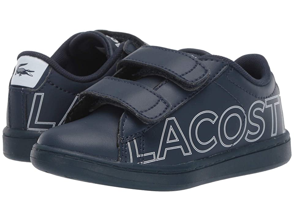 Lacoste Kids Carnaby Evo 219 1 SUI (Toddler/Little Kid) (Navy/White) Kid