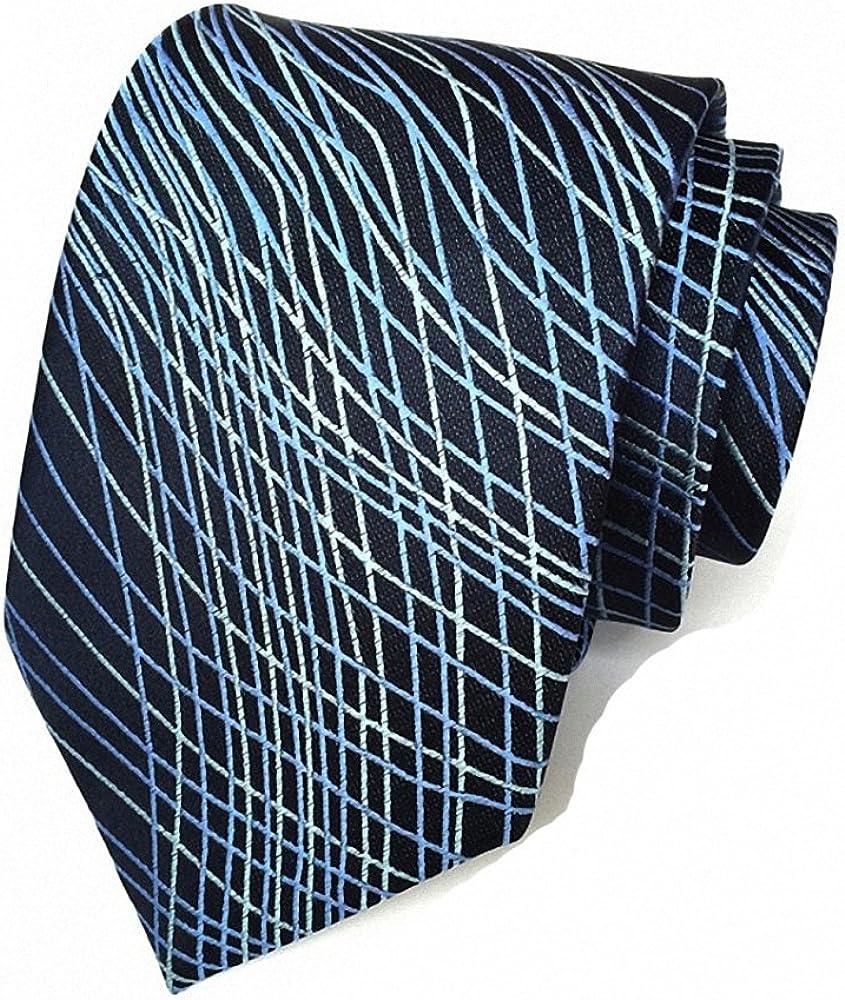Lictory 8cm Paisley Neckties Exquisite Design Neck Tie Cravat Mens Suits Ties