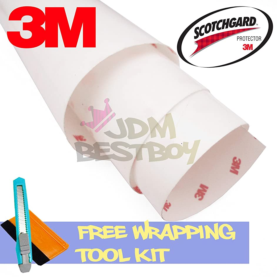 FREE TOOL KIT 3M Scotchgard Hood Bumper Paint Protection Brace Clear Film Vinyl Wrap Decal Self Adhesive - 12