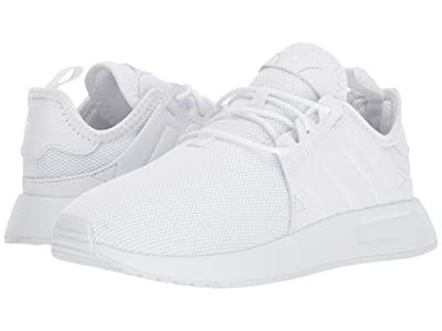 adidas Originals Kids X PLR (Little Kid) (White) Kids Shoes