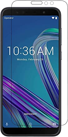 KEVAY Tempered Glass Screen Protector for Asus Zenfone Max Pro M1 with Installation Kit