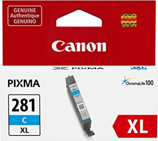 Canon Genuine Ink Cartridge CLI-281XL Cyan Ink