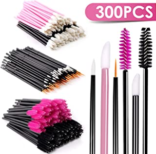 Disposable Mascara Wands Makeup Applicators - Mascara Brushes Lipstick Applicators Eyeliner Brushes BTArtbox 300PCS Makeup Applicators Brushes Tools Kit