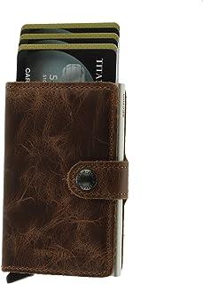 SECRID Mens Mini-wallet Vintage Brown
