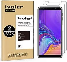 iVoler [2 Pack] Vetro Temperato per Samsung Galaxy A7 2018 / J4 Plus 2018 / J6 Plus 2018 [Garanzia a Vita], Pellicola Protettiva Protezione per Schermo per Samsung A7 2018 / J4+ 2018 / J6+ 2018