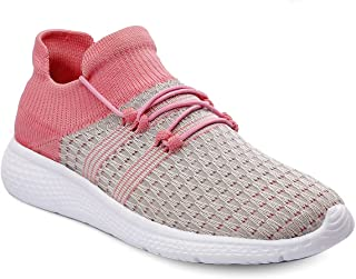 Shozie Women Casual Walking and Running Sports Shoes Black,Colour