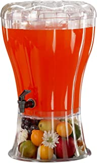 Buddeez Unbreakable 3-1/2-Gallon Beverage Dispenser with Removable Ice-Cone