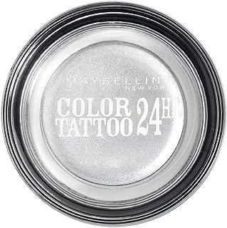 Gemey Maybelline Eyestudio Color Tattoo 24h - 50 Eternel Silver