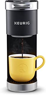 Keurig K-Mini Plus Coffee Maker, Single Serve K-Cup Pod Coffee Brewer, Comes With 6 to 12 oz. Brew Size, K-Cup Pod Storage, and Travel Mug Friendly, Black