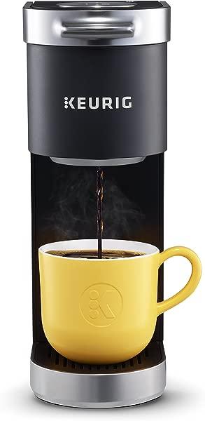 Keurig K Mini Plus Coffee Maker Single Serve K Cup Pod Coffee Brewer Comes With 6 To 12 Oz Brew Size K Cup Pod Storage And Travel Mug Friendly Matte Black