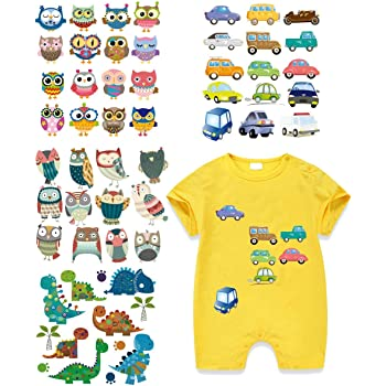 Love Owl Heat Transfer  Iron On Patches For Clothes Diy Clothing Decor Print TS