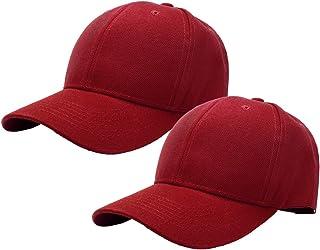 2 قطعة قبعة بيسبول للرجال النساء حجم قابل للتعديل مثالي للأنشطة في الهواء الطلق