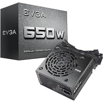 EVGA 100-N1-0650-L1, 650 N1, 650W, 2 Year Warranty, Power Supply