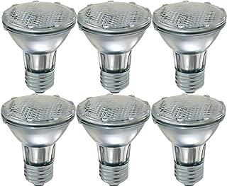 GE Lighting 69164 38-watt 490-Lumen Energy-Efficient Halogen Spotlight Bulb with Medium Base, 6-Pack