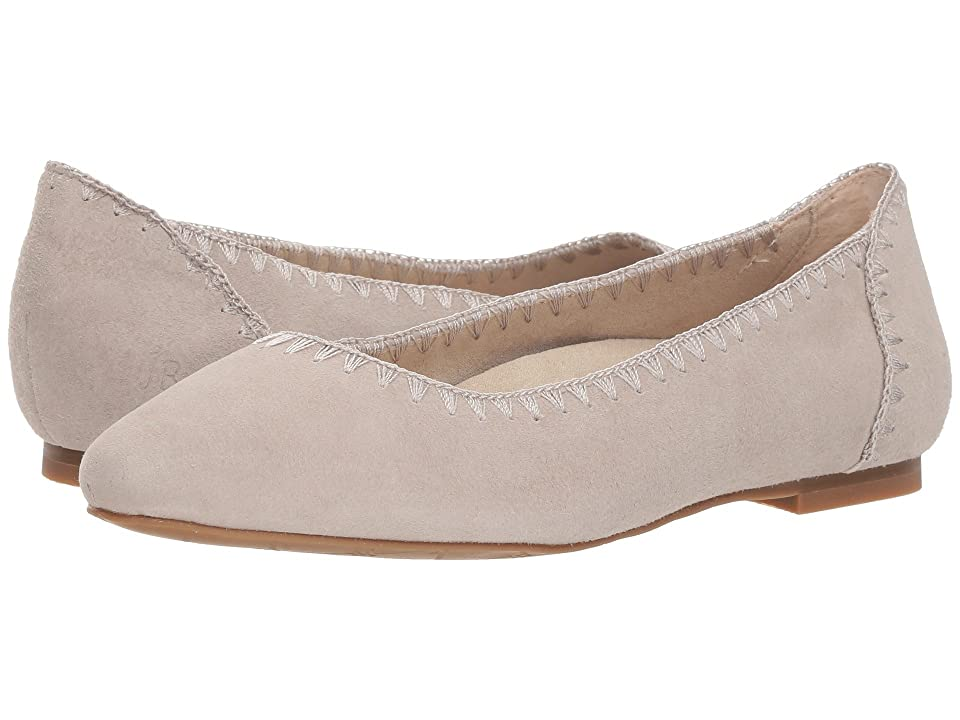 Jack Rogers Ellie Suede II (Dove Grey) Women's Shoes