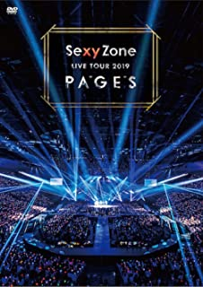 Sexy Zone LIVE TOUR 2019 PAGES(通常盤DVD)(特典なし)