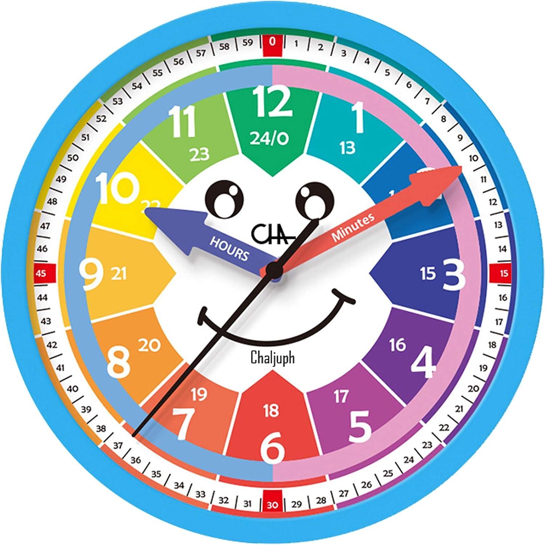 M.A CHALJUPHI Kids Clock   Kids Room, Playroom Analog Silent Wal