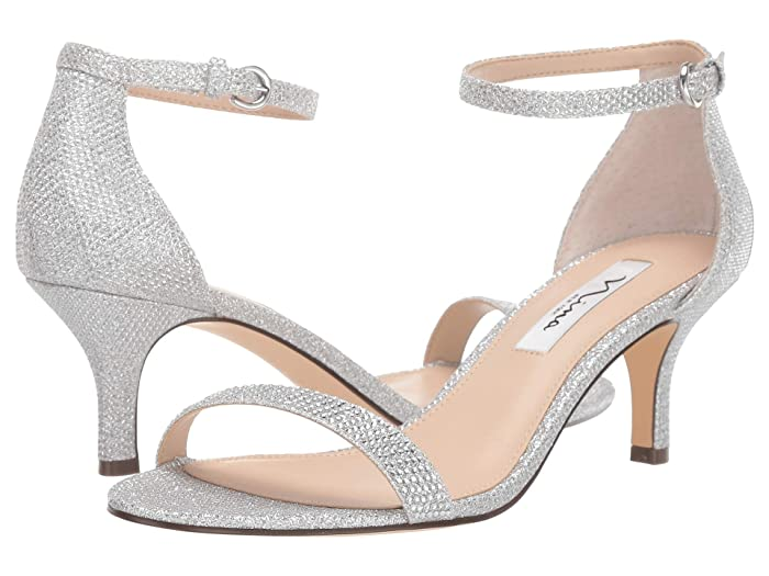 Nina  Clarice (Silver) Womens Shoes
