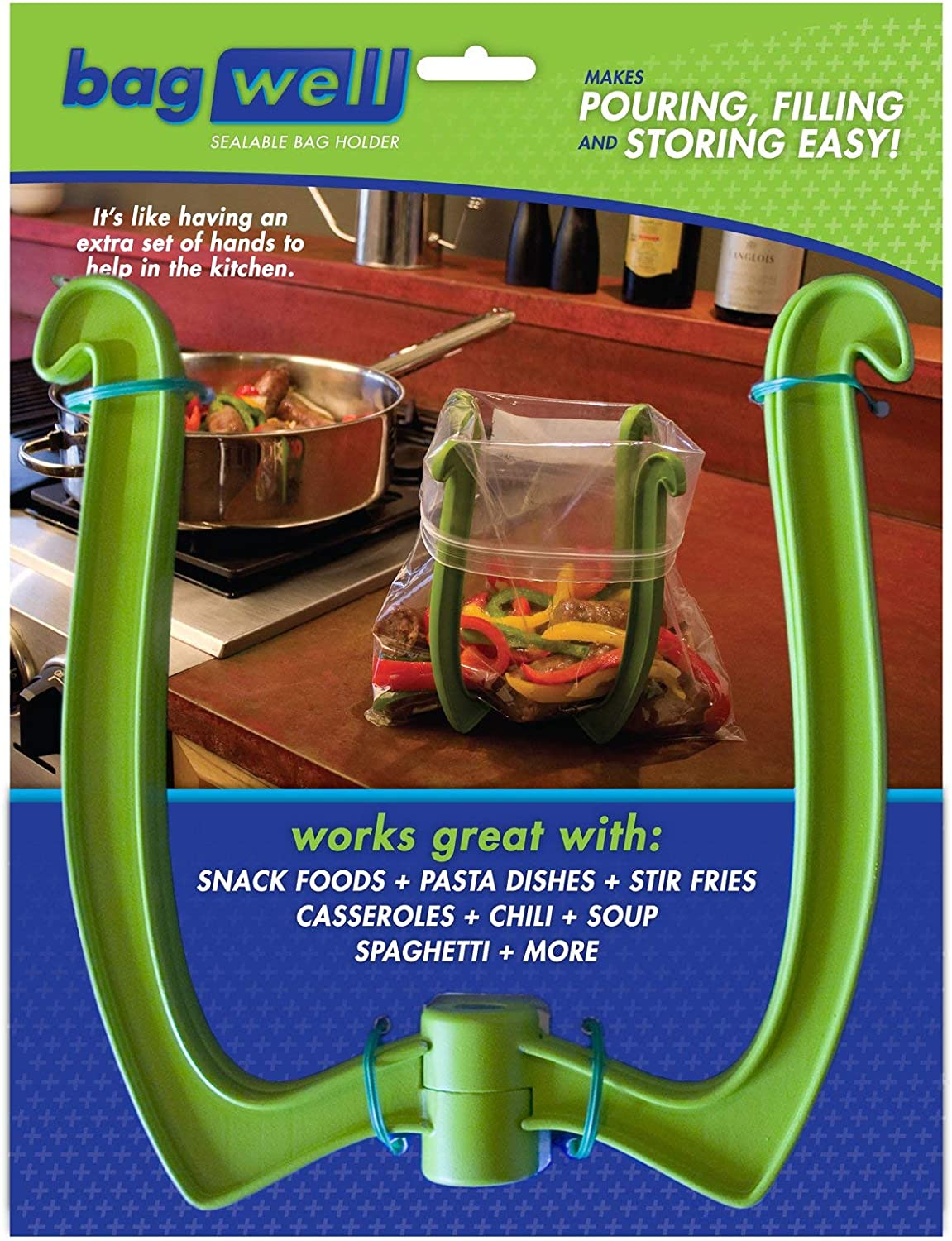 Bag Well Sealable Holder Max 41% OFF Max 46% OFF for Storage 1 Gallon Bags