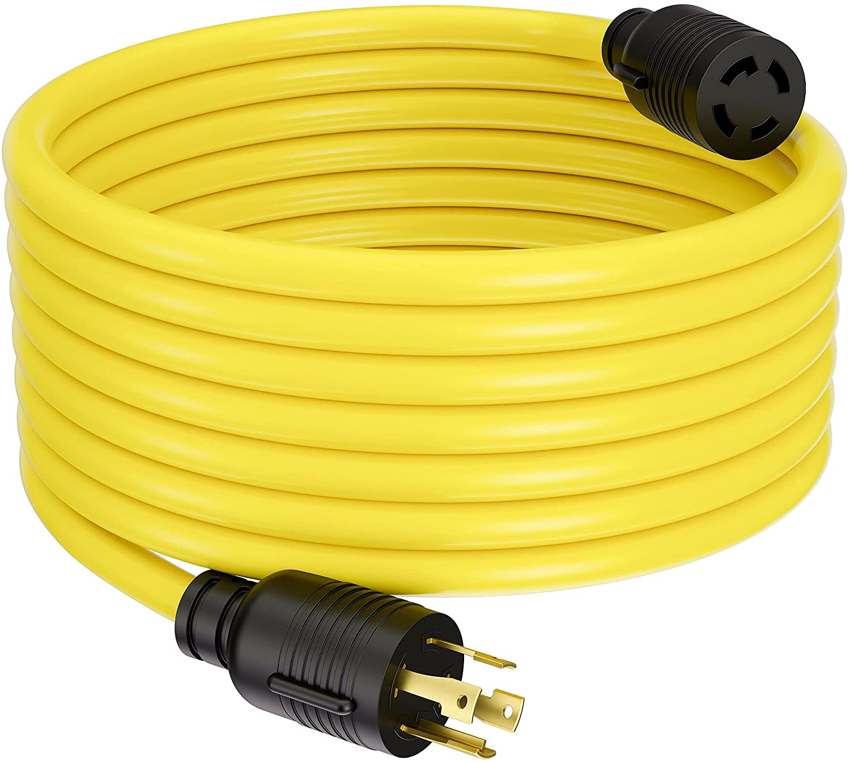Atlanta Mall ACKING Indefinitely Extension Cord NEMA L14-30P to Pro SJTW L14-30R 10GUAGE 3