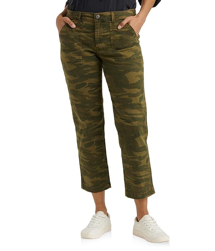 Lucky Brand  Boyfriend Utility Pants (Classic Camo) Womens Casual Pants