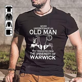 The University Of Warwick Graduate Man T Shirt Long Sleeve Sweatshirt Hoodie for Man and Woman