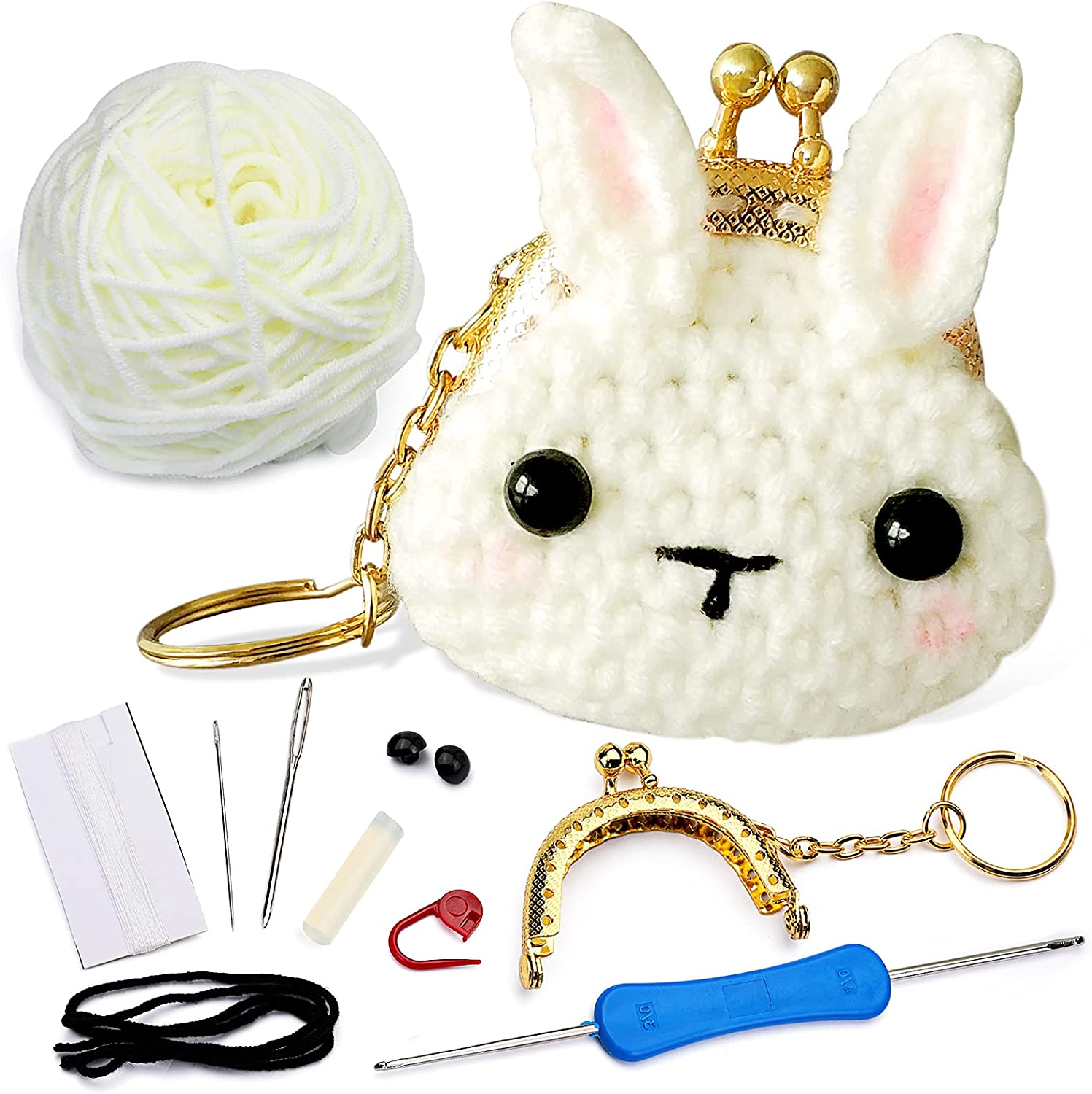 Crochet Making Kit OFFicial site - Animal Omaha Mall Beginners for DIY Crafts Cr