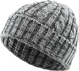 KBETHOS Heather Color Thick Cable Knit Beanie Skull Cap Unisex Winter Hat