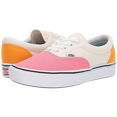 Vans ComfyCush Era ((Canvas) Strawberry Pink/Zinnia/True White) Athletic Shoes