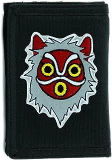 Princess Mononoke San Wolf Mask Tri-fold Wallet Alternative Clothing Anime Cosplay
