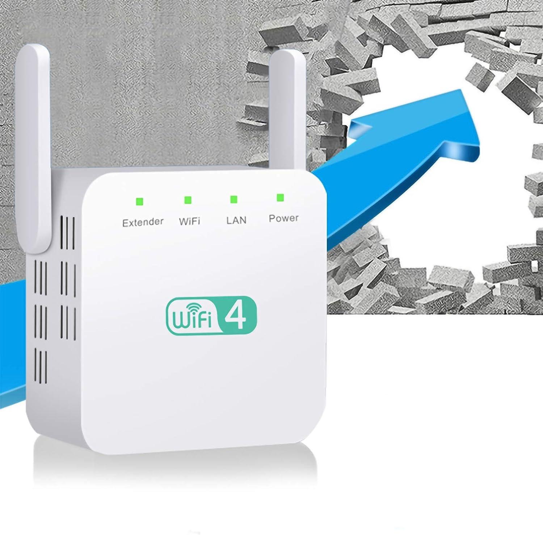 Max 83% OFF 2.4Ghz Dual Antenna WiFi Extender Rang Booster 300M Max 56% OFF Internet Zen