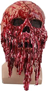Slipknot Mask Horror Latex Grimace Tree Monster Mask Realistic Cosplay Props for Halloween