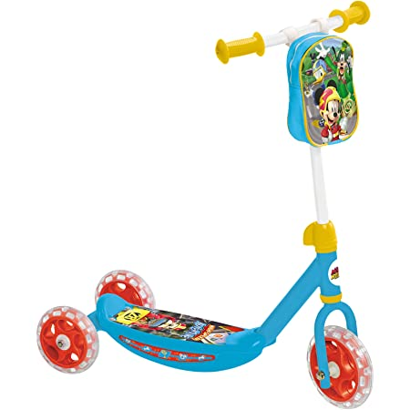 Mondo Mouse and The Roadster Patinete 3 Ruedas Mickey Racers, Multicolor, 10