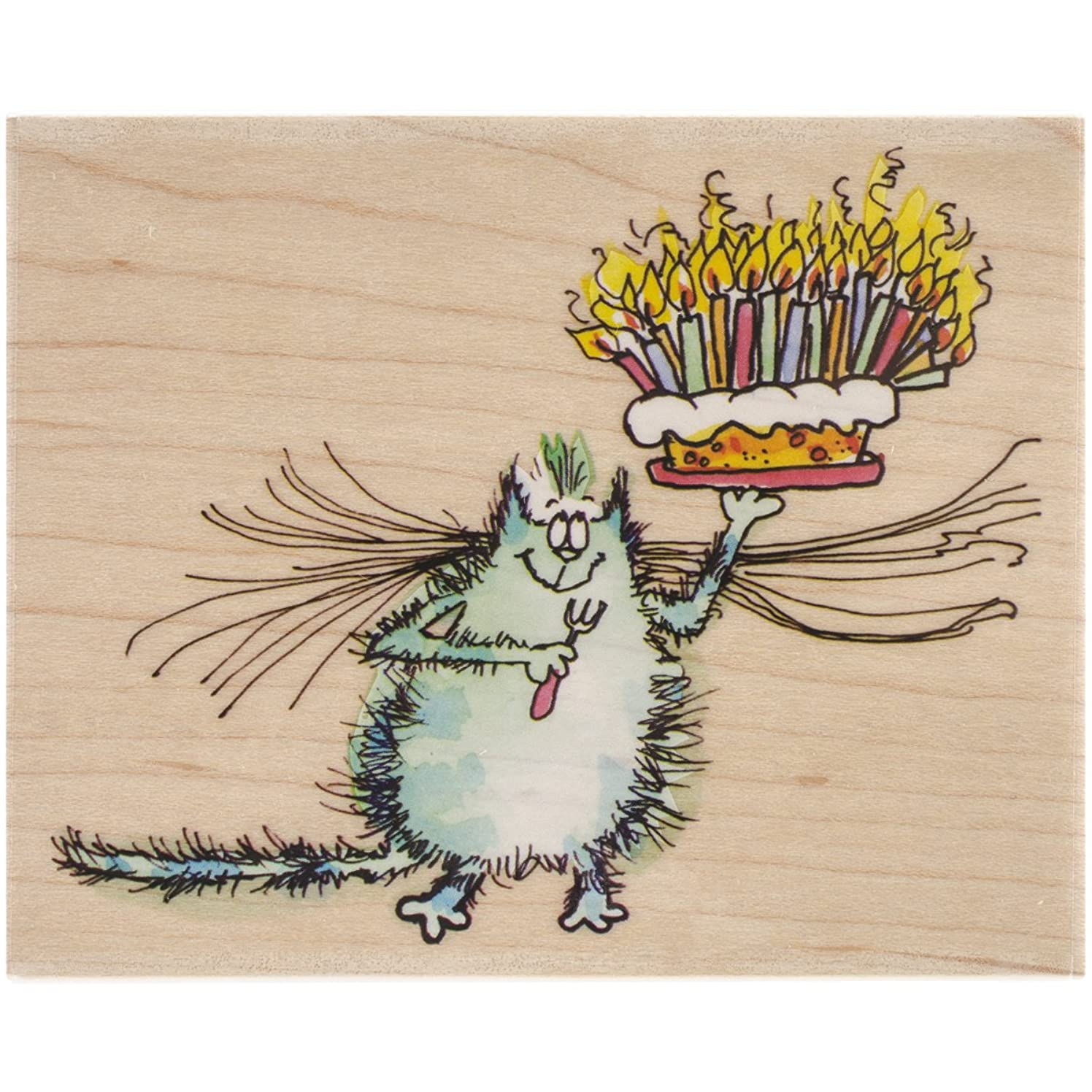 Penny Black Birthday Whiskers Stamps