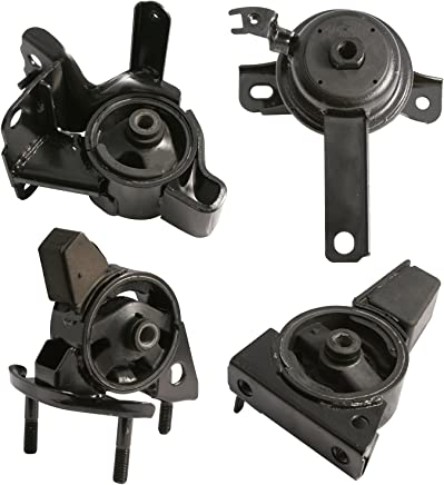 4pc Motor Mounts Set Kit for 98-02 Toyota Corolla & 98-02 Chevy