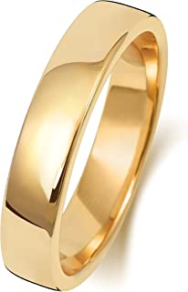 Anello Fede Nuziale Uomo/Donna 4mm in Oro giallo 9k (375) WJS189509KY
