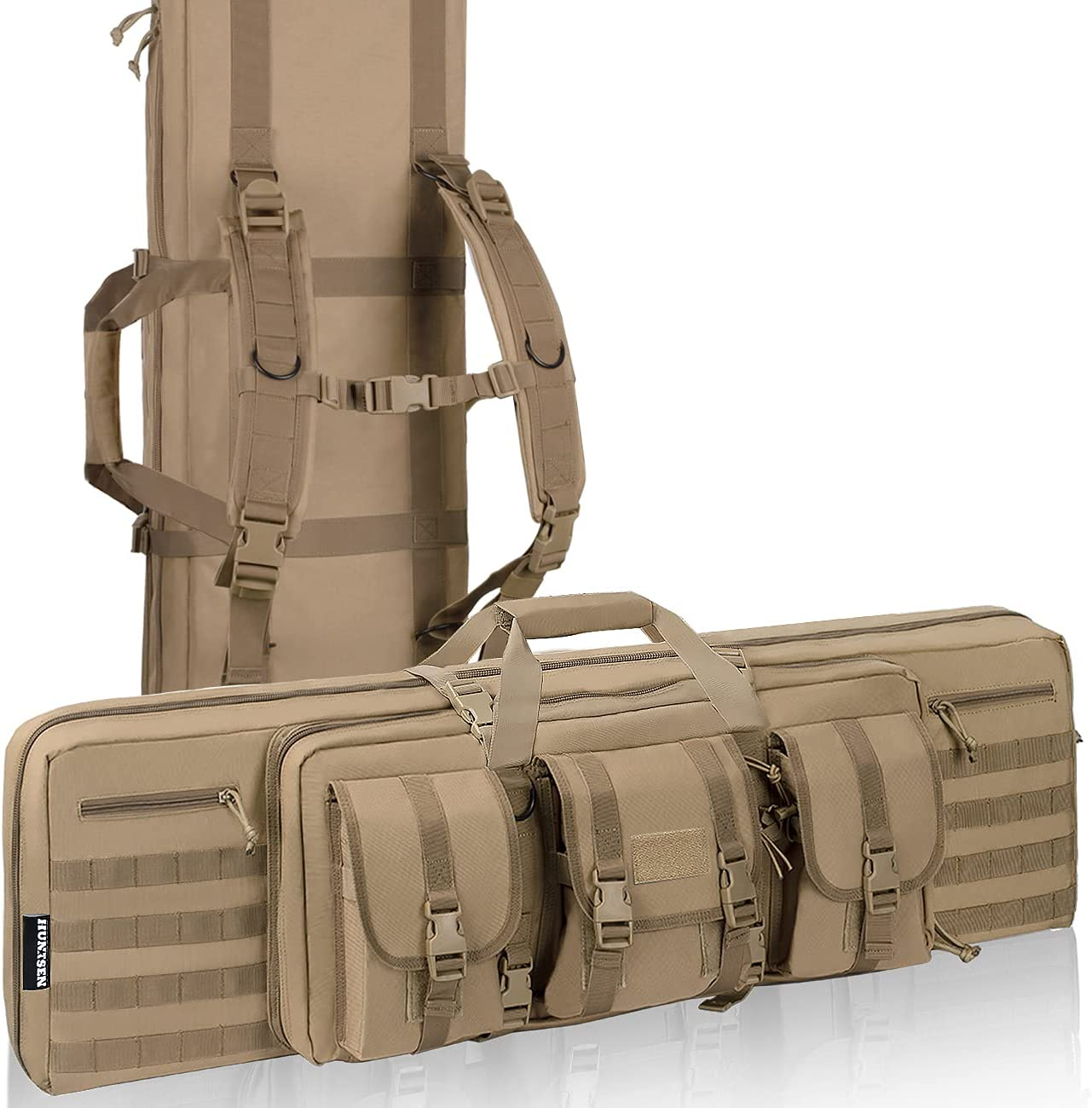 HUNTSEN Rifle Bag Portland Mall Soft Double Gun for Handguns Case Fort Worth Mall Rifles and C