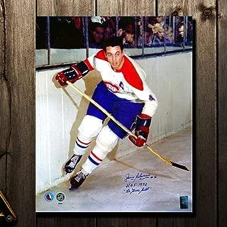 Jean Beliveau Autographed Picture - Le Gros Bill HOF 16x20 - Autographed NHL Photos