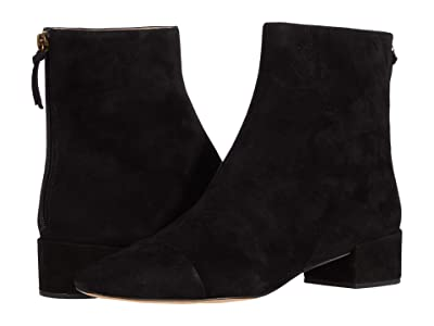 J.Crew Suede Leona Ankle Boot (Black) Women