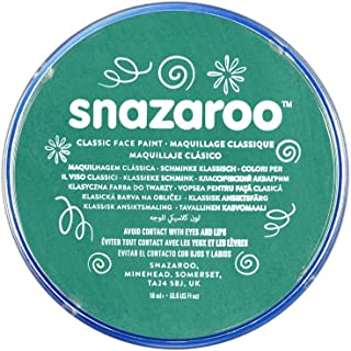 Snazaroo Classic Face and Body Paint, 18ml, Teal, 6 Fl Oz