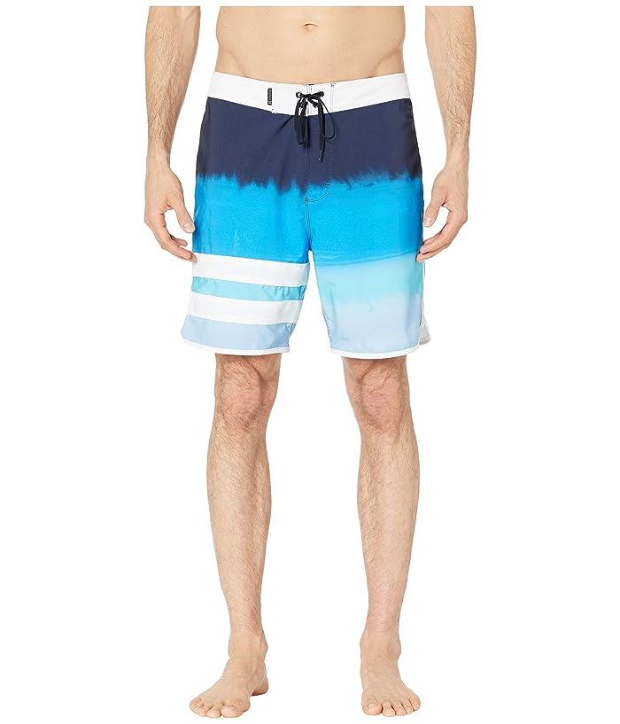 2e3615a832 Hurley 18 Phantom Block Party Fever Boardshorts (Obsidian) Men's Swimwear