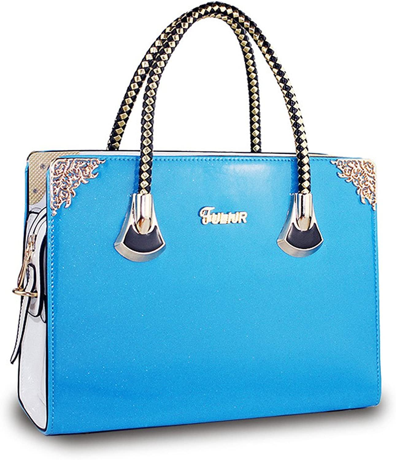 Fleeting Time Women's New Air Bag Ladies Bright Pearl Jelly Bag