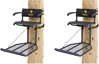Rivers Edge Big Foot XL Lounger Hang On Portable Hunting Tree Stand (2 Pack)