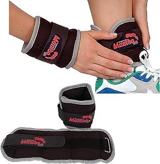 2 pesos Tobillos y Muñecas 1 KG cada uno Deporte Fitness WRIST ANKLE WEIGHTS