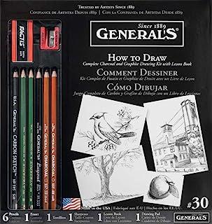مجموعة قلم رصاص عام كيفية الرسم (30GP)