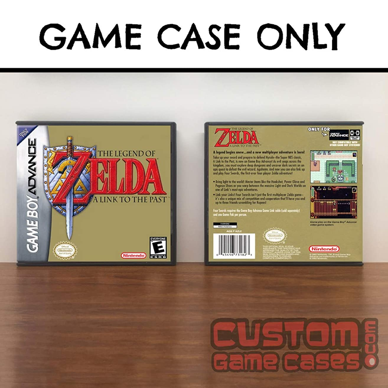 Gameboy Advance Legend of Zelda ,The: A Link to the Past - Case
